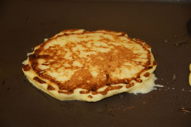 5 pancake on griddle small